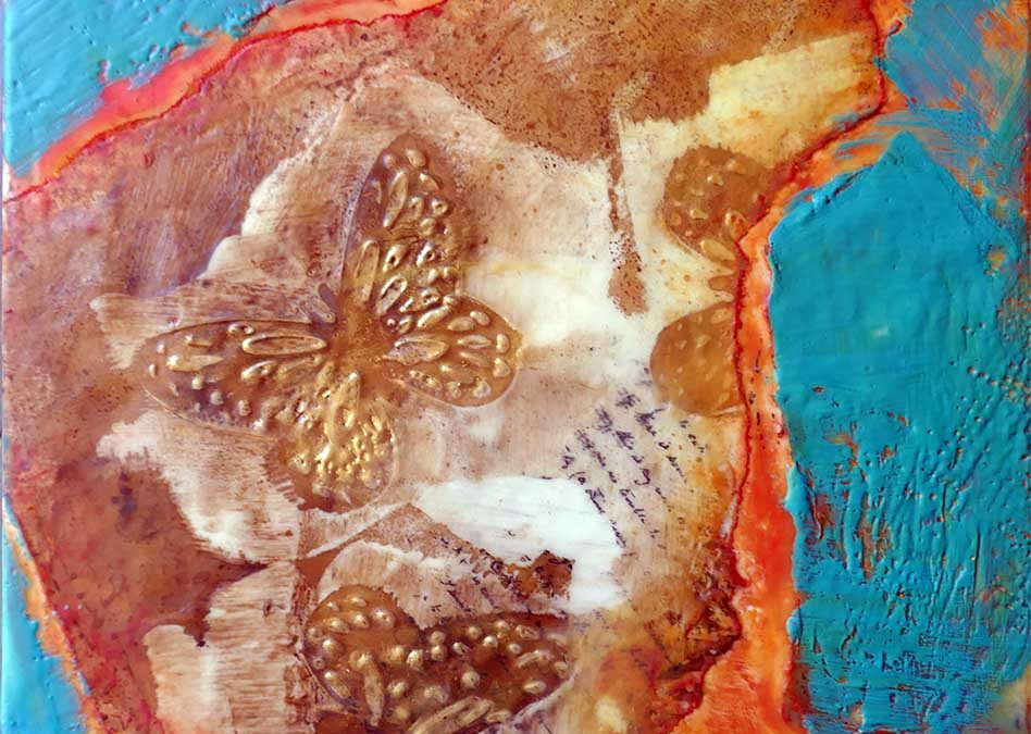 "Encaustic ""Paper-Making"" Workshop"