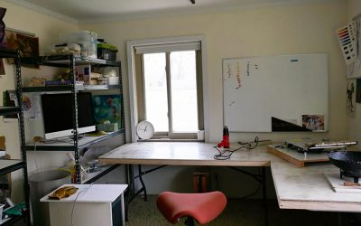 Encaustic Studio Upgrades
