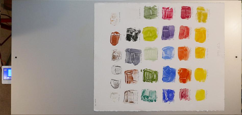 Encaustic Palette