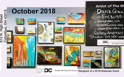 October 2018:  Artist of the Month